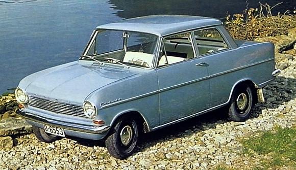 Opel kadett 1963