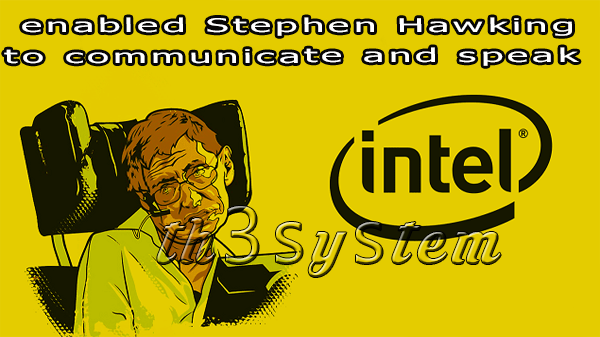 Learn about technology that enabled Stephen Hawking to communicate and speak