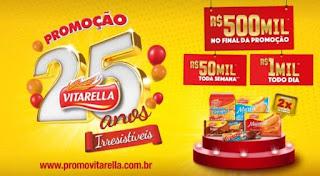 Promoção Vitarella 25 anos