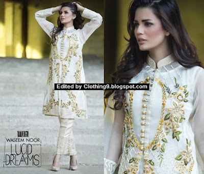 Waseem Noor 2016 Lucid Dreams Formal Dresses