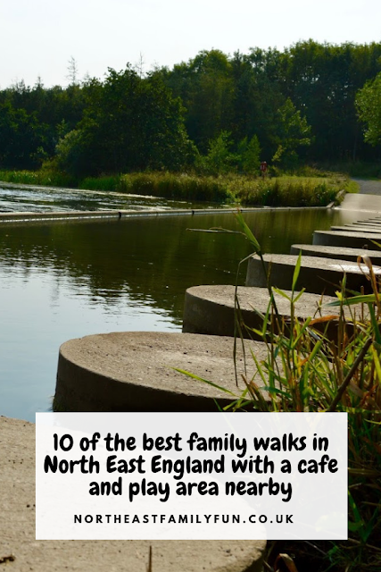 10 of the best family walks in North East England with a cafe and play area nearby