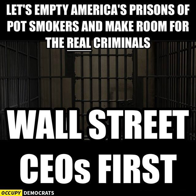 Make Room for the Real Criminals