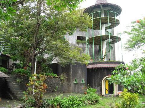 Affandi museum tower.