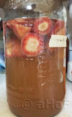 Strawberry Ginger Spritzer