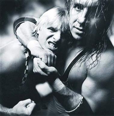 Adam S Wrestling Owen Hart
