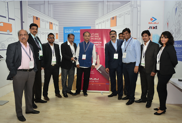 Bajaj Electricals showcases its Innovative Lighting Solutions range at Light India