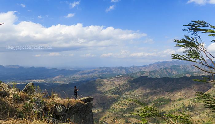 Pesona Keindahan di Gunung Besek, Kismantoro, Wonogiri