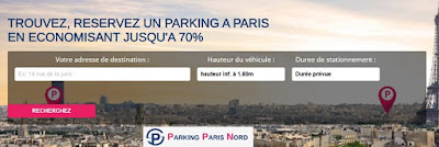parking paris au mois