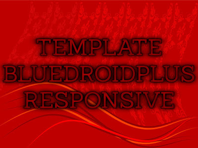 Template Terbaru 2017 Blue DroidPlus Template Blog Download Gratis