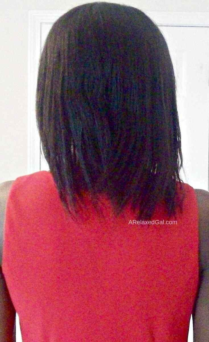 Moisture Focused Wash Day 11.5 Weeks Post Relaxer | A Relaxed Gal