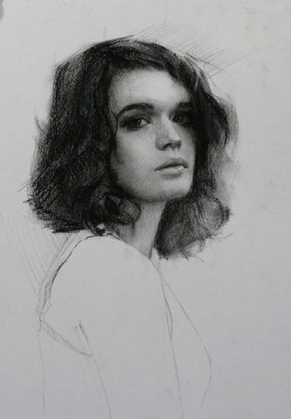 01-Rebecca-Louis-Smith-Charcoal-Portrait-Study-Drawings-www-designstack-co