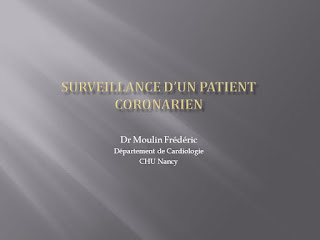 Surveillance d'un patient coronarien