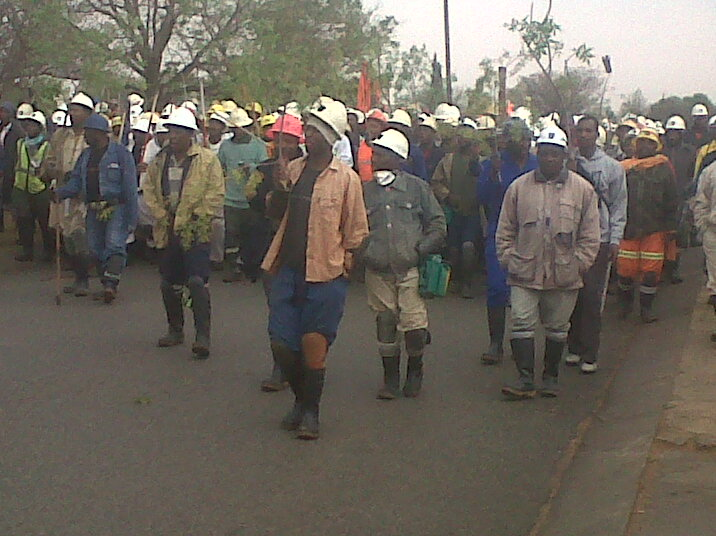 Impact mining strikes have on