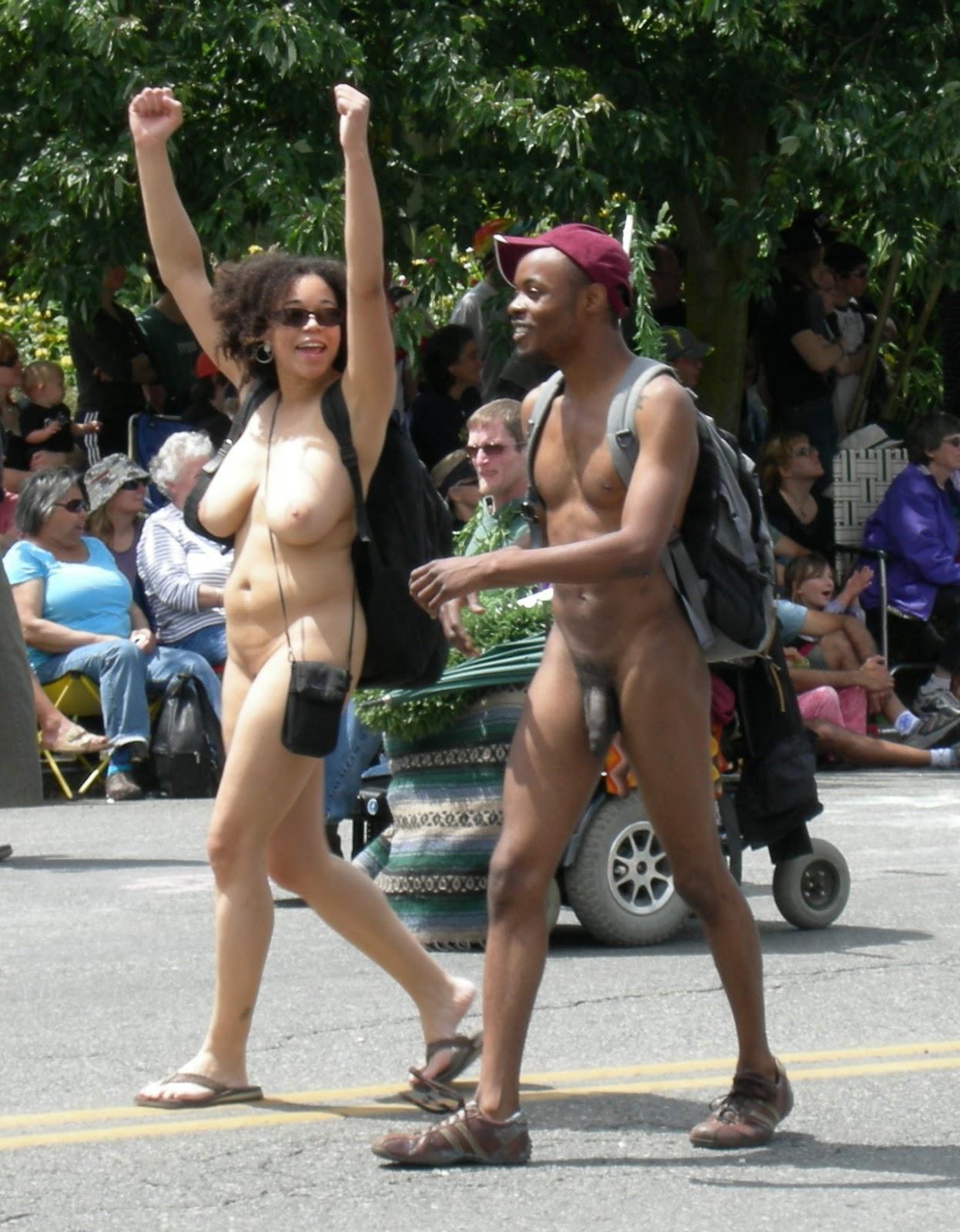 Naked parade in san francisco