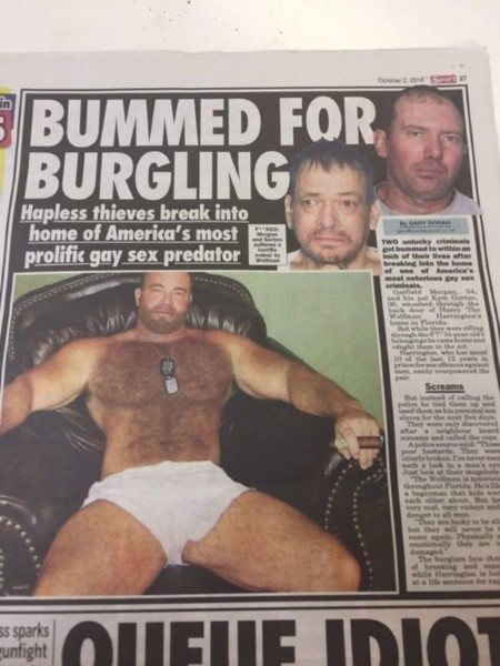 Two Burglars Broke Into Home Of Notorious Gay Rapist, What Happened To Them Is Sweet And Sick Karma!