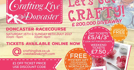 Win x4 tickets to the Crafting Live, Doncaster