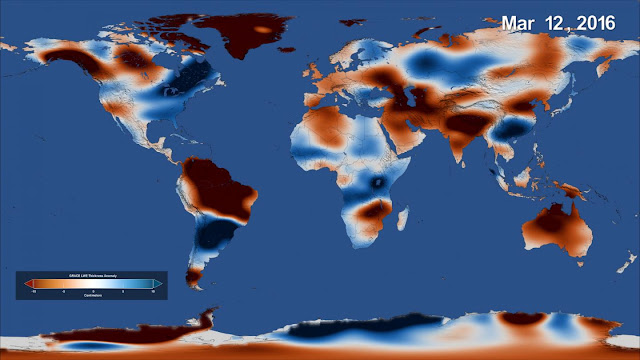 Satellite study finds major shifts in global freshwater