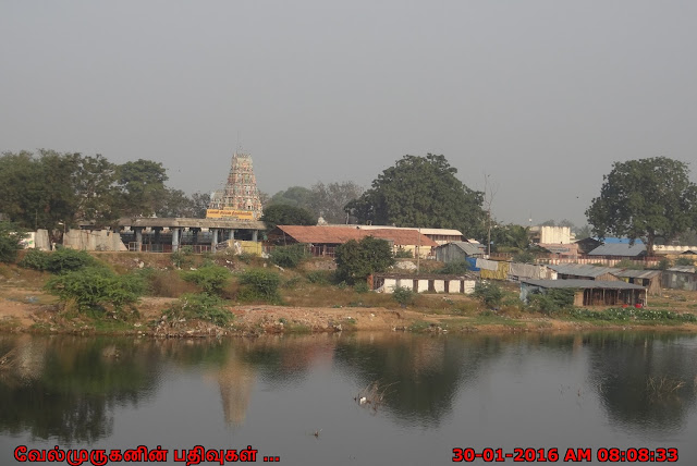 Periyapalayam Amman Temple in Arani River Bank