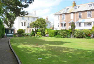 Putting Green at Coburg Fields in Sidmouth, Devon