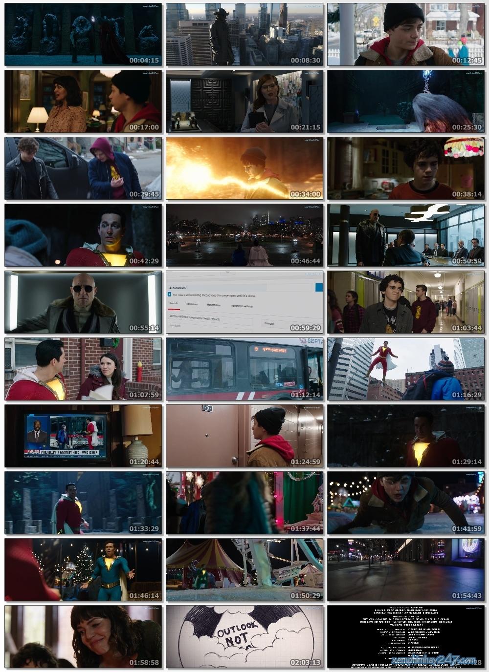 http://xemphimhay247.com - Xem phim hay 247 - Siêu Anh Hùng Shazam (2019) - Shazam! (2019)