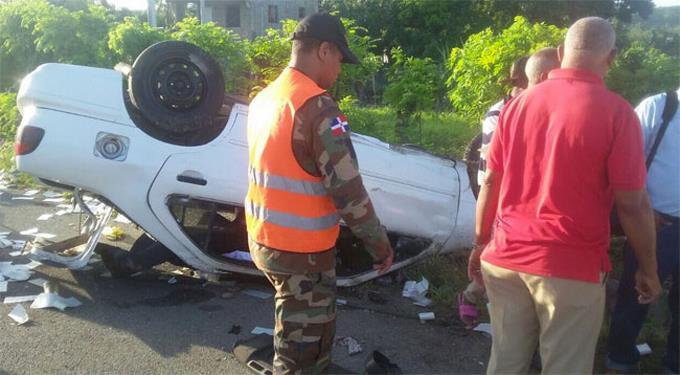 Campesino que leyó manifiesto de la Marcha Vede en Azua sufre accidente vehicular