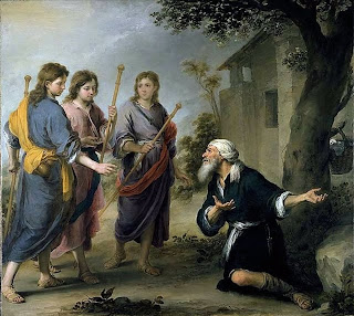 Abraham y los tres ángeles - National Gallery of Canada Otawa 1670.74