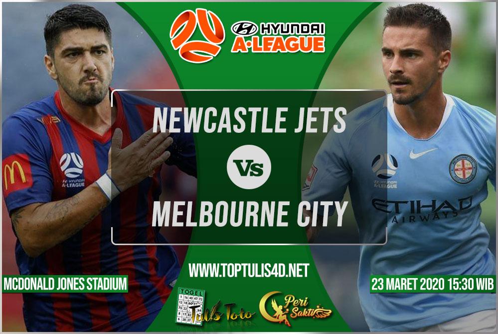 Prediksi Newcastle Jets vs Melbourne City 23 Maret 2020