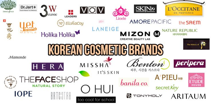 Beauty products from Korea!! Good beauty products made in