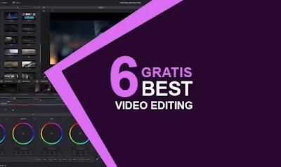 Sofware untuk edit video gratis terbaik