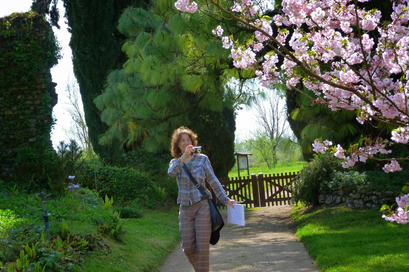 Flores no Jardim de Ninfa
