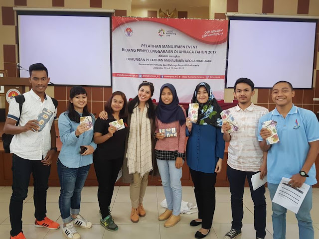 vivid argarini kemenpora event management training
