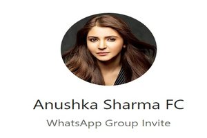 Anushka Sharma WhatsApp Group Link Of 2018