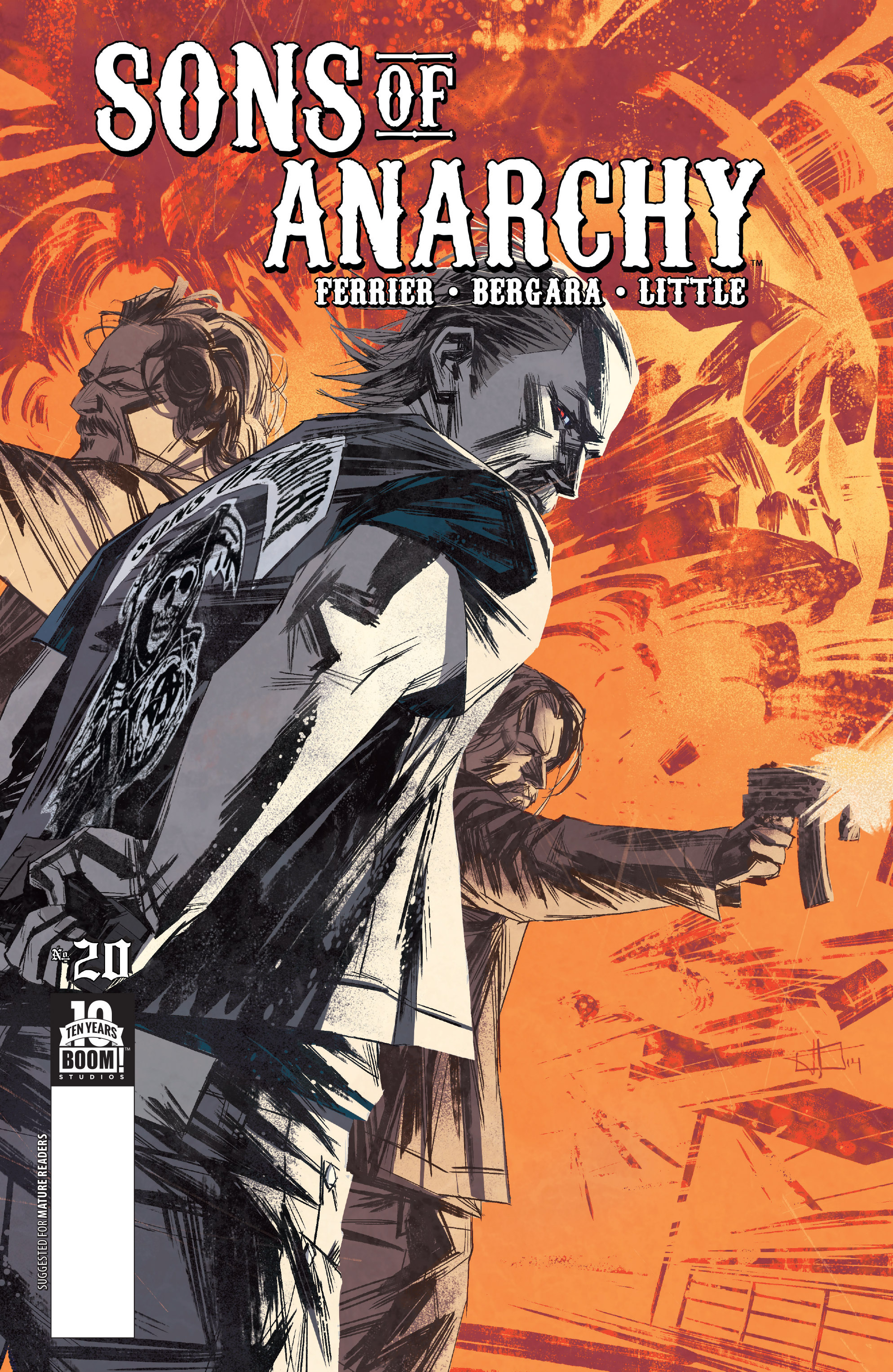 Read online Sons of Anarchy comic -  Issue #20 - 1