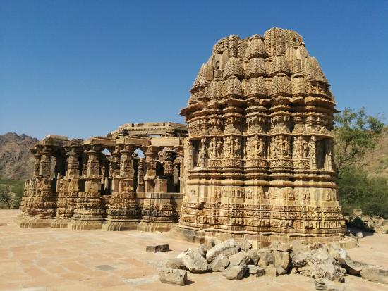 the cursed kiradu temples