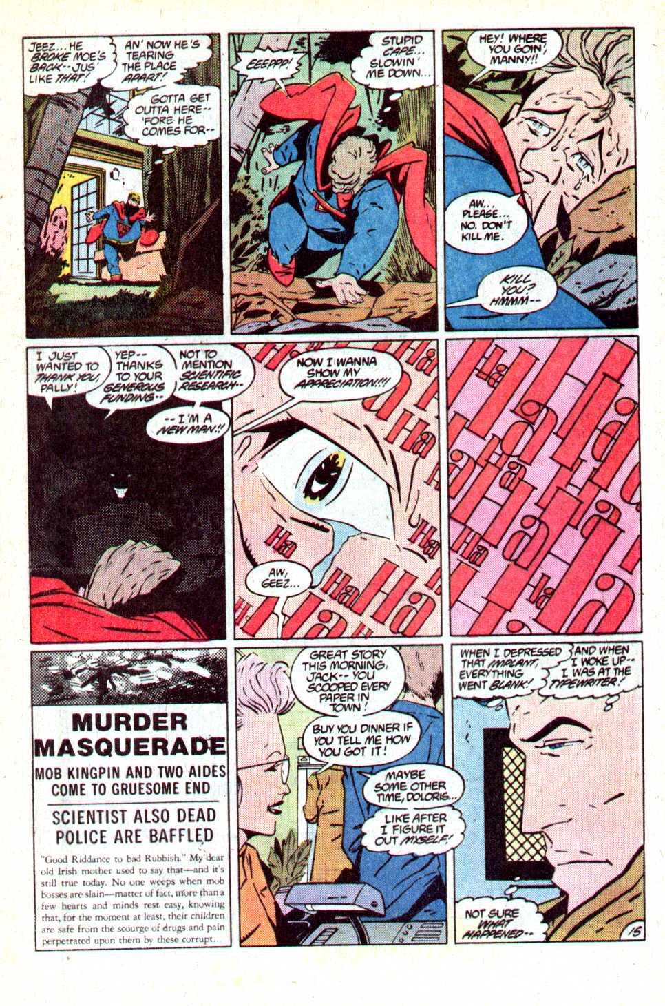 Read online Secret Origins (1986) comic -  Issue #18 - 16