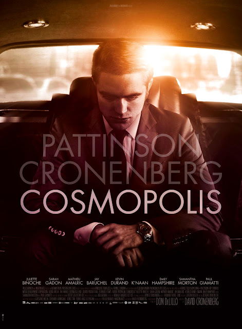 Cosmopolis 2012 Movie Robet Pattinson Poster