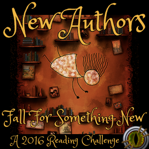 New Author Challenge 2016 #NewAuthorsRC2016