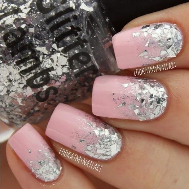 Glitter Glass Glitter Lambs Nail Polish Swatched by Lookatmynailart