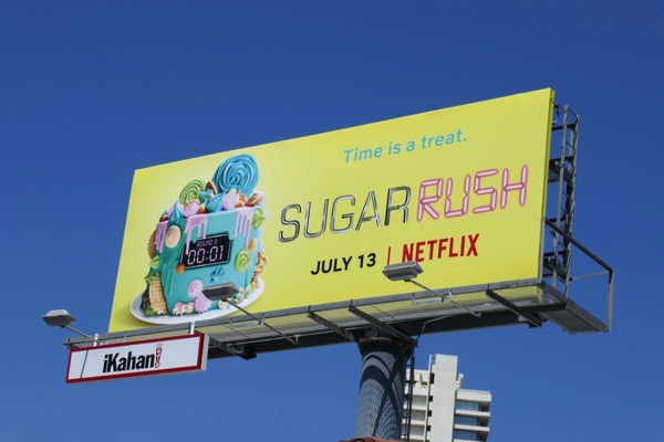 Sugar Rush series premiere billboard