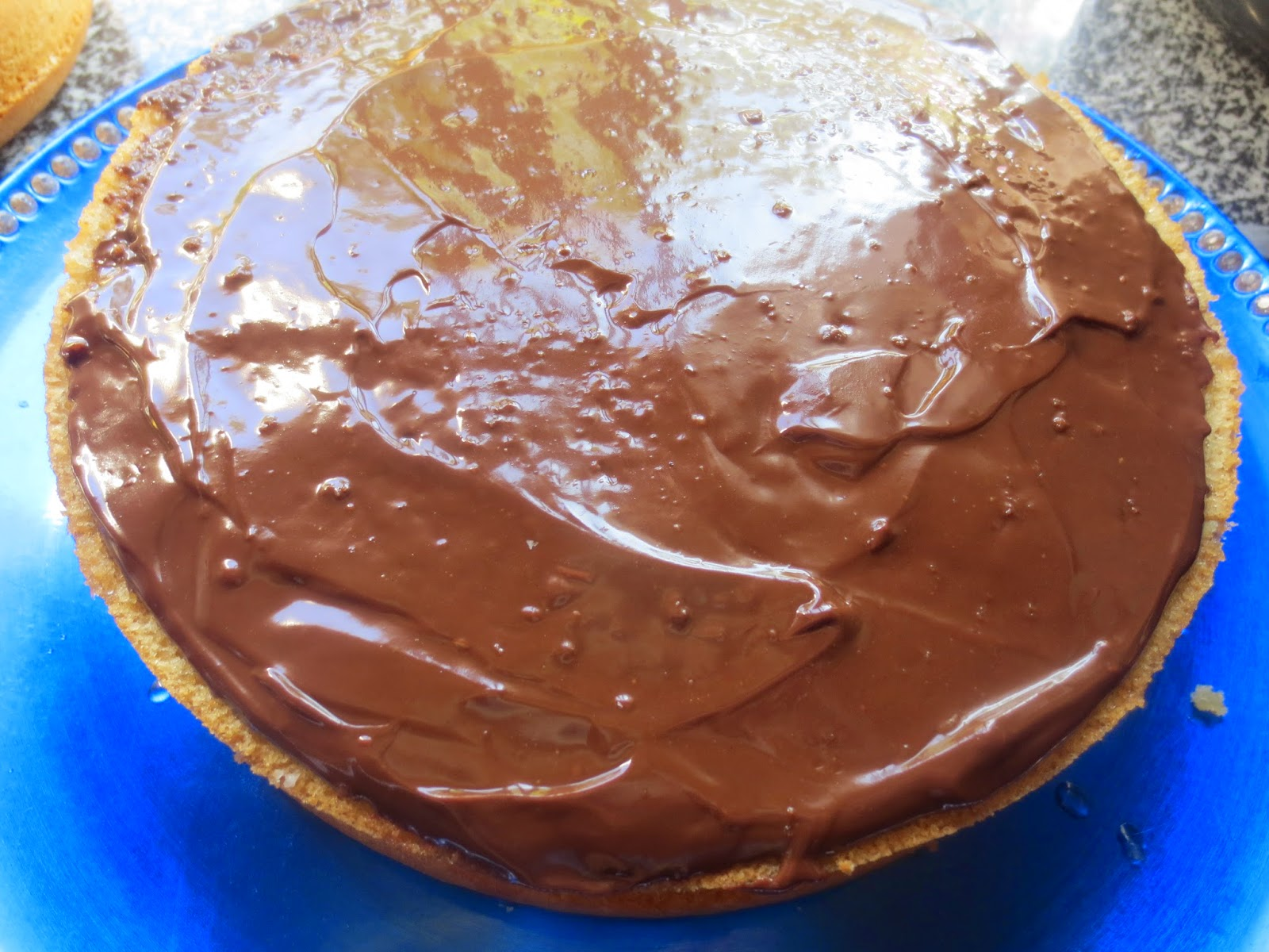 Tarta de crema y chocolate Thermomix