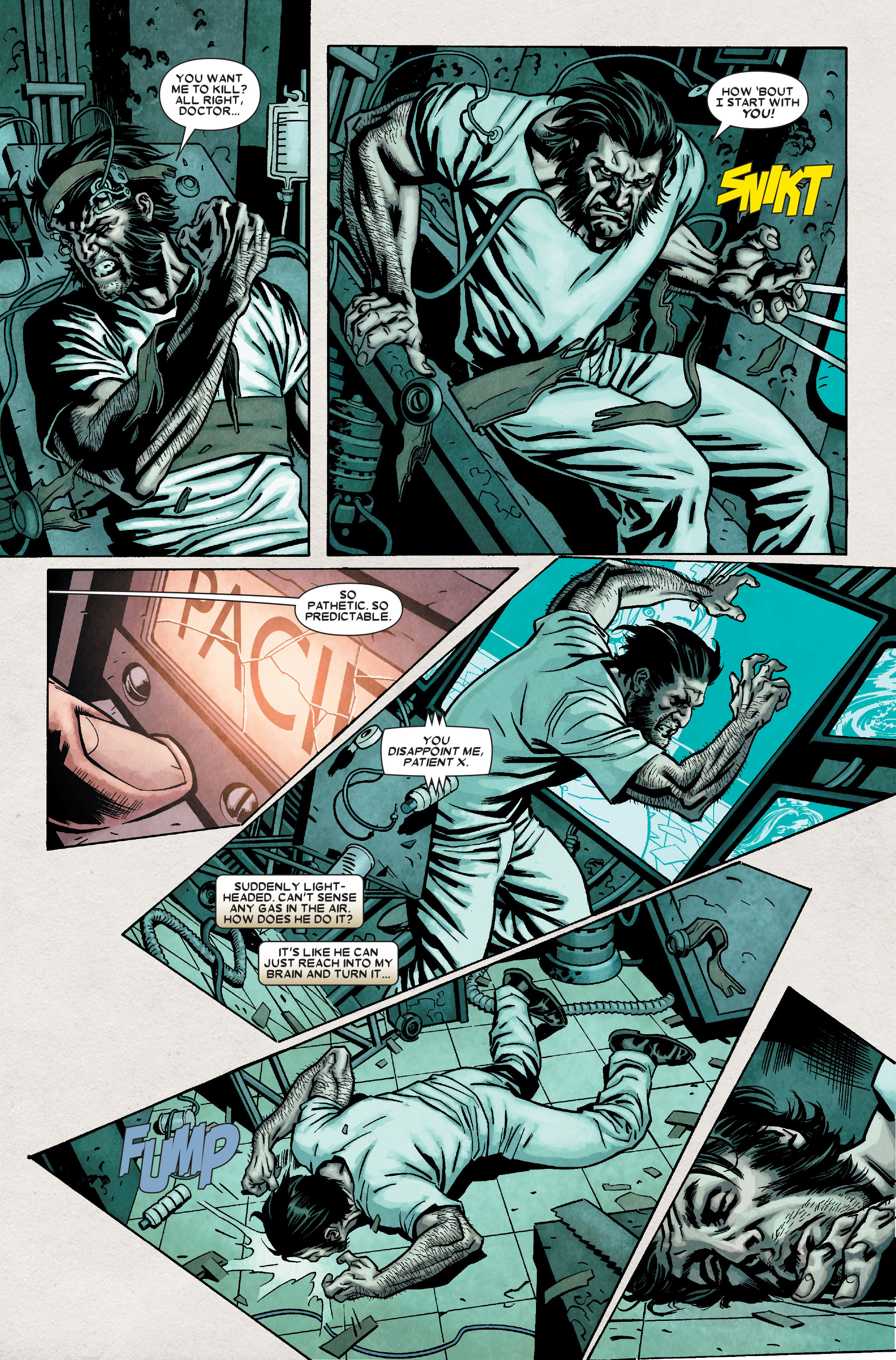Read online Wolverine: Weapon X comic -  Issue #8 - 8