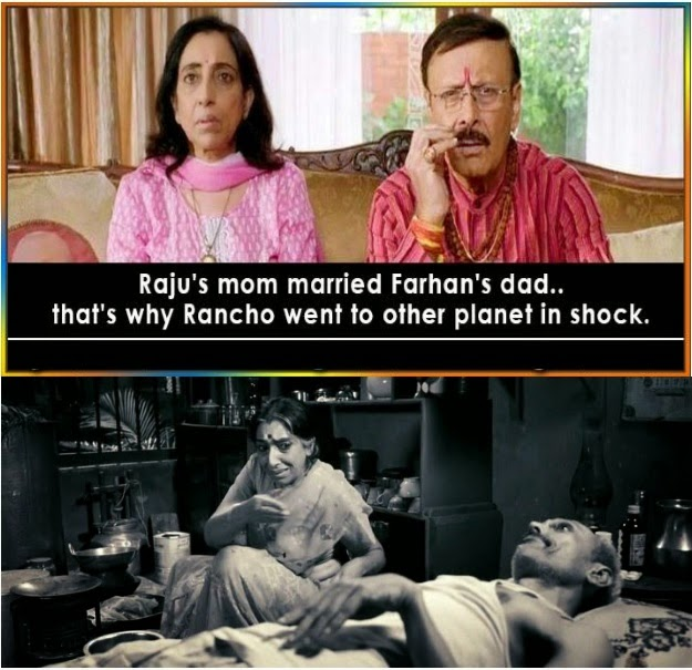 Funny PK Movie Fact Picture