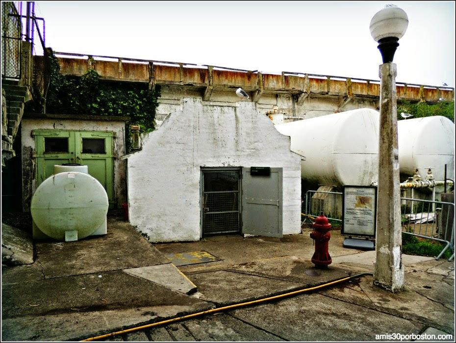 La Prisión de Alcatraz: Morgue