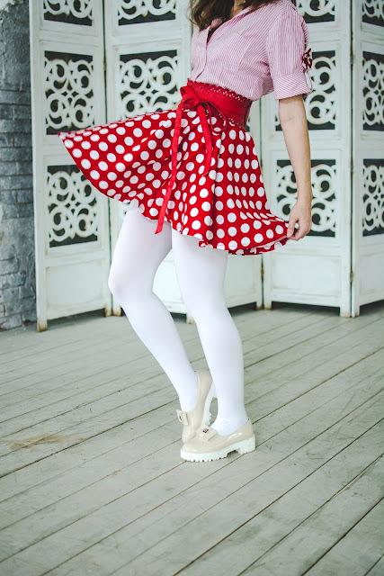Платье пинап
