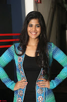 Megha Akash in a beautiful Anarkali dress with Long Jacket at LIE success meet ~  Exclusive Celebrities Galleries 031.JPG
