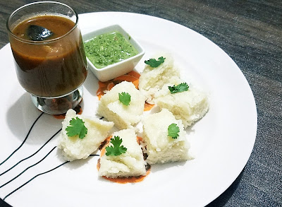 white dhokla recipe www.thehoggerz.com