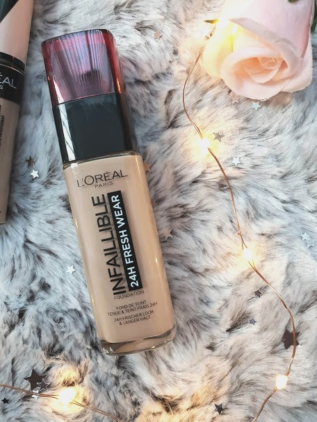 loreal fresh wear foundation oily skin review