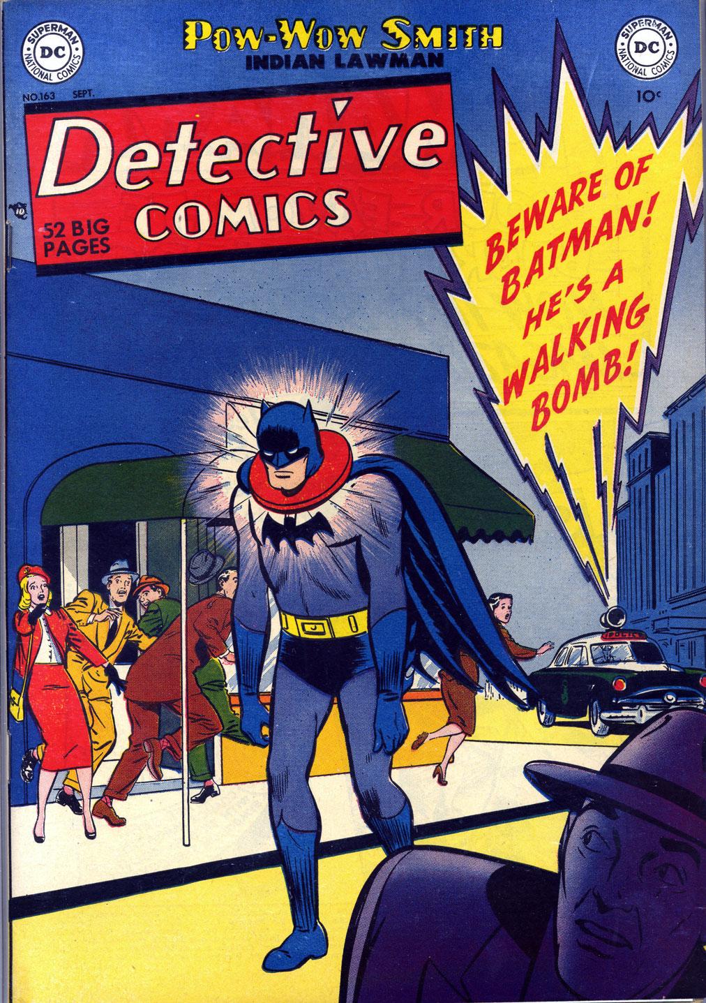 Read online Detective Comics (1937) comic -  Issue #163 - 1
