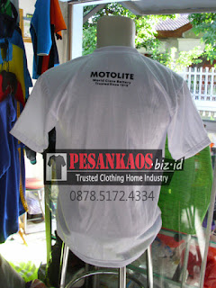 order kaos oblong semi cotton di sidoarjo, pesan kaos promosi di surabaya