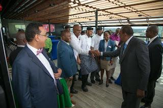Uhuru Meeting tourism delegates. PHOTO | Courtesy